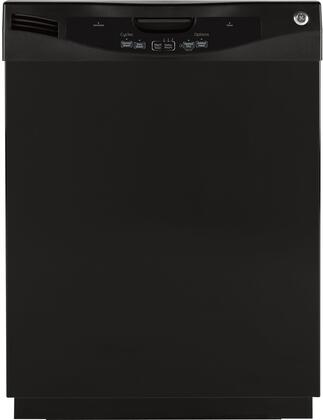 GE GLD3806TBB  Built-In Full Console Dishwasher with in Black