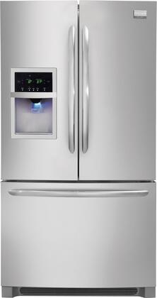 Frigidaire FGHB2844LF Gallery Series  French Door Refrigerator with 27.8 cu. ft. Capacity in Stainless Steel
