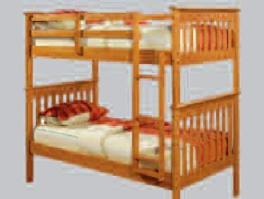 Donco 1203HTT8  Twin Size Bunk Bed