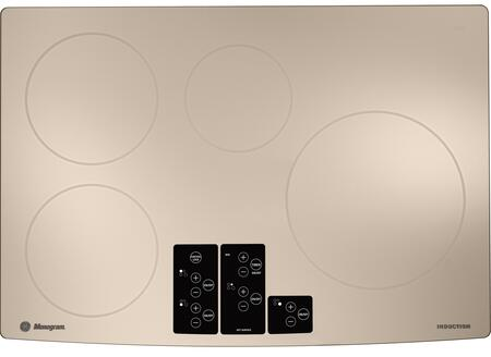 "GE Monogram ZHU30RSRSS 30"" 4 Element Yes Cooktop, in White"