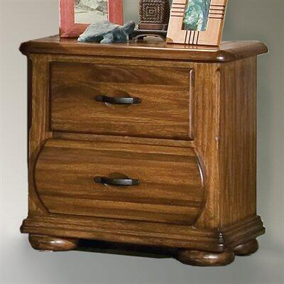American Woodcrafters 7400420  Rectangular Wood Night Stand