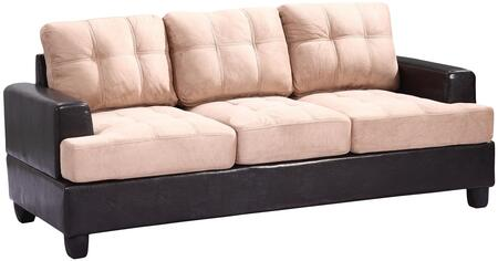Glory Furniture G588AS  Suede Sofa