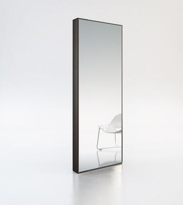 Modloft MD120WEN Greene Series Rectangular Both Floor Mirror