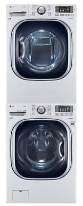 LG LG3PCFL27ESTCKWKIT2 TurboWash Washer and Dryer Combos