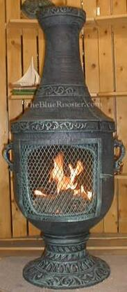 The Blue Rooster Company ALCH026GKLP Gas Powered Venetian Chiminea Outdoor Fireplace - Liquid Propane