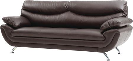 Glory Furniture G433S  Stationary Faux Leather Sofa