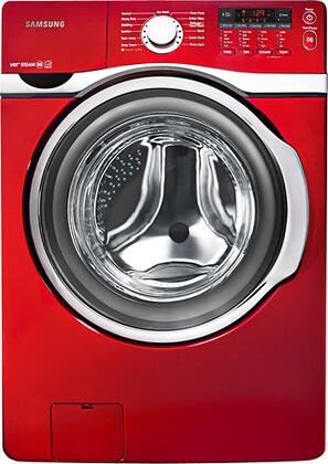 """Samsung Appliance WF393BTPA 27"""" Wide 3.9 cu. ft. Large-Size Capacity Front-Load Washer with Digital Controls, 11 Wash Cycles, Pure Cycle, Delay-Start, Stainless-Steel Drum, Diamond Drum Design, VRT Technology in"""