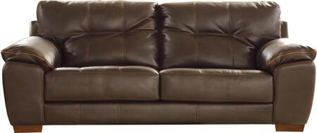 """Jackson Furniture Hudson Collection 4396-03- 97"""" Sofa with Pillow Top Arms, Tufted Detailing and Block Feet in"""
