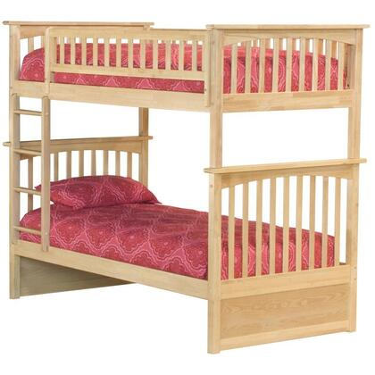 Atlantic Furniture AB55105  Twin Size Bunk Bed