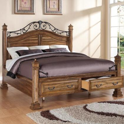 Legends Furniture ZBCL700K Barclay Series  King Size Panel Bed