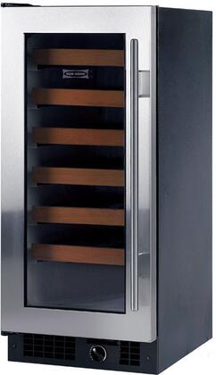 "Sub-Zero 315WSTHLH 15.125"" Built In Wine Cooler, in Stainless Steel"
