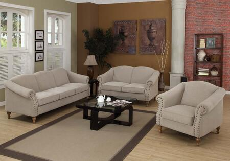Armen Living LC10562SA Maxwell Series  with Fabric Frame Loveseat