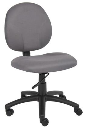"Boss B9090GY 25.5"" Adjustable Contemporary Office Chair"