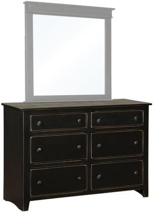 Chelsea Home Furniture 465124B Verdad Shaker Series Wood Dresser
