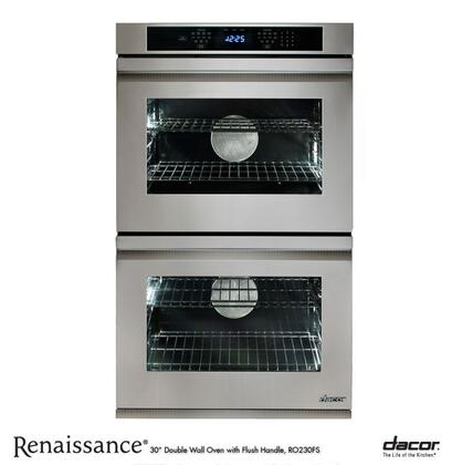 """Dacor RO230FS 30"""" Double Wall Oven, in Stainless Steel with Flush Handle"""