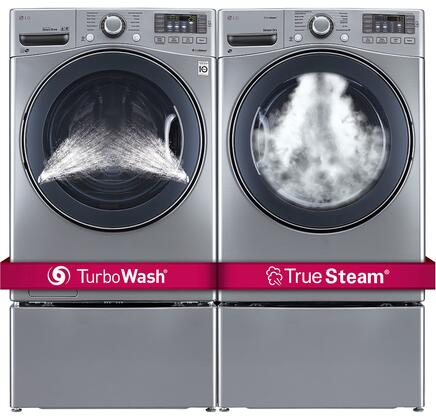 LG 551963 FrontLoad Washer and Dryer Combos