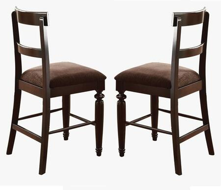 Acme Furniture 70387 Bandele Series Residential Fabric Upholstered Bar Stool