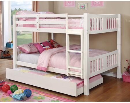 Furniture of America CMBK929FWHBEDT Cameron Full Bedroom Set