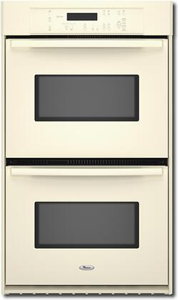 """Whirlpool RBD305PV 30"""" Double Electric Wall Oven With 4.1 Cu. Ft., Self-Cleaning, Delay Bake, AccuBake Temperature Management System, 3 Oven Racks, Electronic Controls, In"""