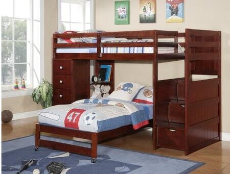 Donco 1204FCP  Full Size Bunk Bed