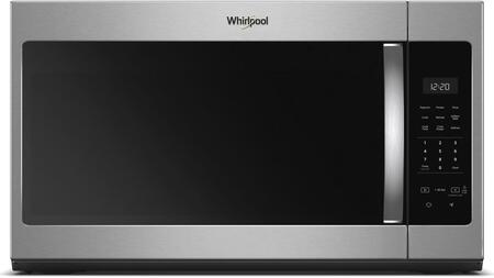 "Whirlpool WMH31017Hx 30"" Over the Range Microwave with 1.7 cu. ft, Capacity, 1000 Watts, Turntable, 220 CFM and 2 Fan Speeds, in"