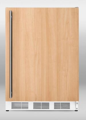 A Front View of the Compact Refrigerator