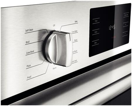 Bosch Hbl5451uc 30 Inch Stainless Steel Single Wall Oven