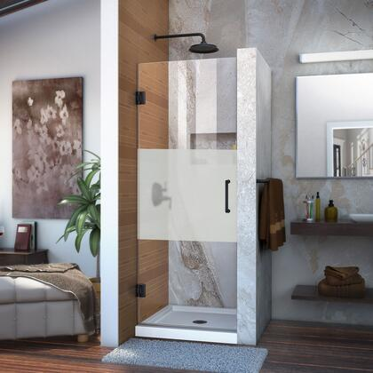 Unidoor Shower Door 12 28D frosted SB