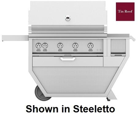 60 in. Deluxe Grill with Worktop   Tin Roof