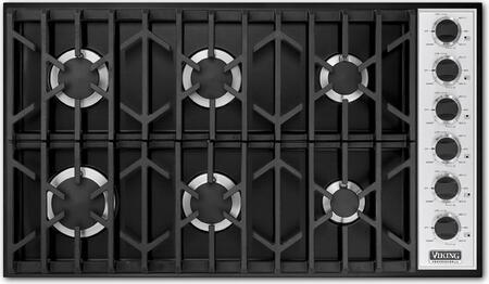 Viking VGSU1646BBK Professional Series Gas Sealed Burner Style Cooktop |Appliances Connection