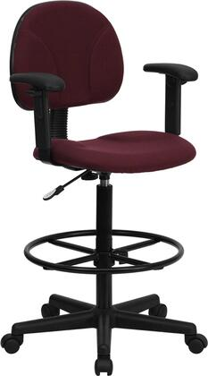 """Flash Furniture BT659BYARMSGG 20"""" Contemporary Office Chair"""