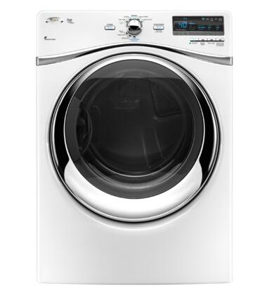 "Whirlpool WGD94HEXW 27"" Gas Dryer 