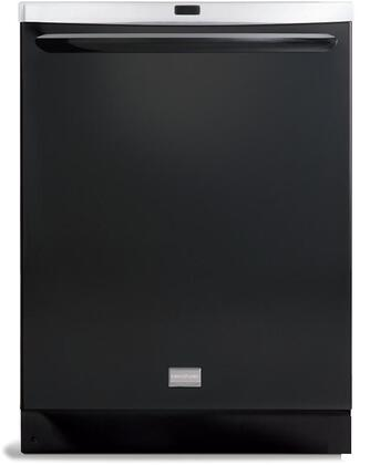 Frigidaire FGHD2461KB Gallery Series Built-In Fully Integrated Dishwasher with in Black