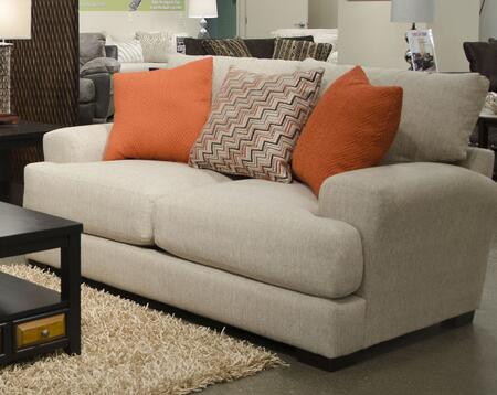 """Jackson Furniture Ava Collection 4498-02- 77"""" Loveseat with Reversible Seat Cushions, Recessed Track Arms and Chenille Fabric Upholstery in"""