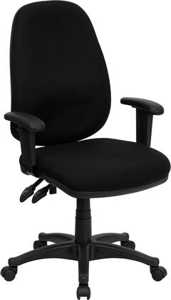 "Flash Furniture BT661BKGG 25.5"" Adjustable Contemporary Office Chair"