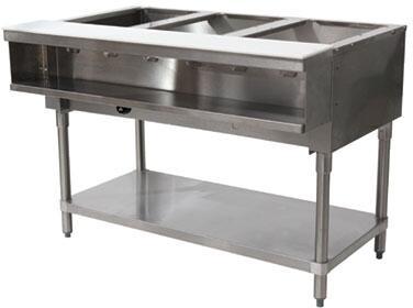 3 Well Water Bath Hot Food Table
