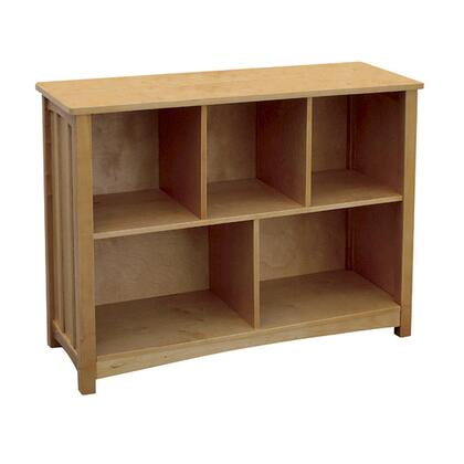 Guidecraft G86406 Mission Series Wood 5 Shelves Bookcase