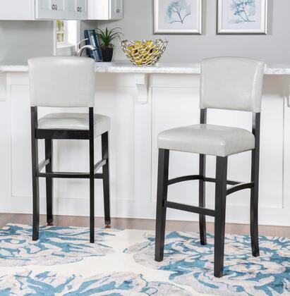 Fabulous Linon Bs225Gry01U Machost Co Dining Chair Design Ideas Machostcouk