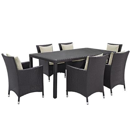 Modway EEI2199EXPBEISET Rectangular Shape Patio Sets