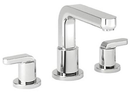 Hansgrohe 31438  Double Handle Three Hole Roman Tub Filler Faucet with Metal Lever Handles from the Metris S Collection: