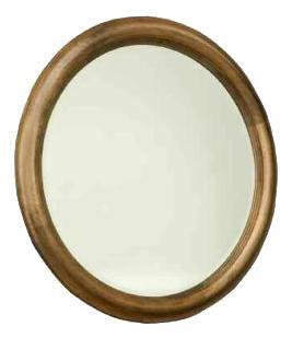 Durham 111180AG Hudson Falls Series Round Portrait Dresser Mirror