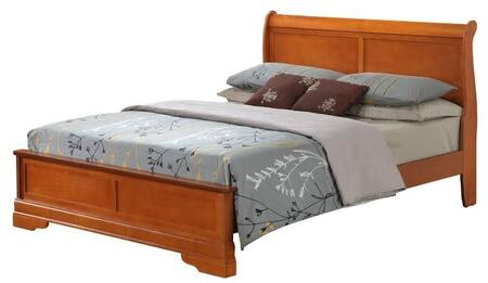 Glory Furniture G3160EQB3 G3100 Series  Queen Size Sleigh Bed