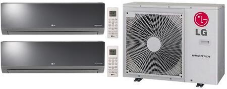 LG 704277 Dual-Zone Mini Split Air Conditioners
