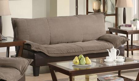 Coaster 300301 Ashington Series Convertible Microfiber Sofa