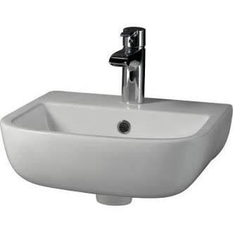 Barclay 4211WH White Wall Mount Sink