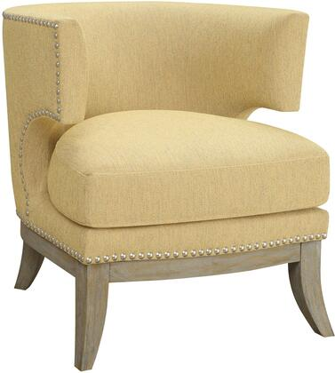 Coaster 902562 Accent Seating Series Armchair Fabric Wood Frame Accent Chair