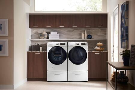 Samsung WF50K7500AW 5 cu  ft  27 Inch Front Load Washer | Appliances