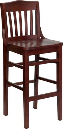 Flash Furniture XUDGW0006BARMAHGG Hercules Series Contemporary Not Upholstered Wood Frame Dining Room Chair