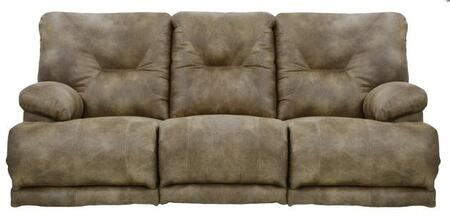 Catnapper 643845122849132849 Voyager Series  Faux Leather Sofa
