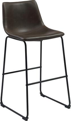 Coaster 102536 Dining Chairs and Bar Stools Series Residential Bycast Leather Upholstered Bar Stool